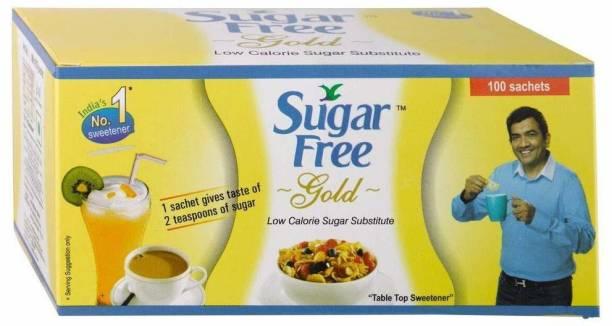 Sugar free SUGAAR FREE GOLD 100 SACHETS Sweetener