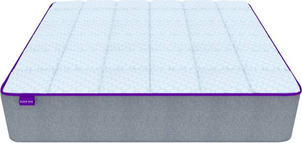 Sleep Spa NIRVANA PLUS Medium Firm OEKO TEX Certified Icy Cool Fabric 6 inch Queen Latex Foam Mattress