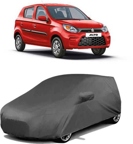 SA GROUP Car Cover For Maruti Suzuki Alto 800 (With Mirror Pockets)