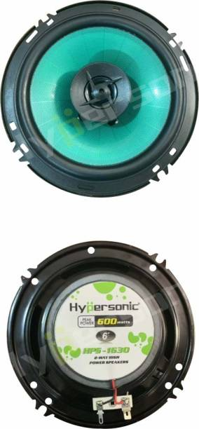 Hypersonic HPS-1630 6 INCH 2-WAY 600 W HIGH OUT PUT 15 MONTHS MAX WARRANTY HPS-1630 6 INCH Coaxial Car Speaker