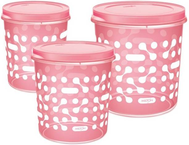 MILTON Premium Storex Airtight Grocery  - 5 L, 7 L, 10 L Plastic Grocery Container
