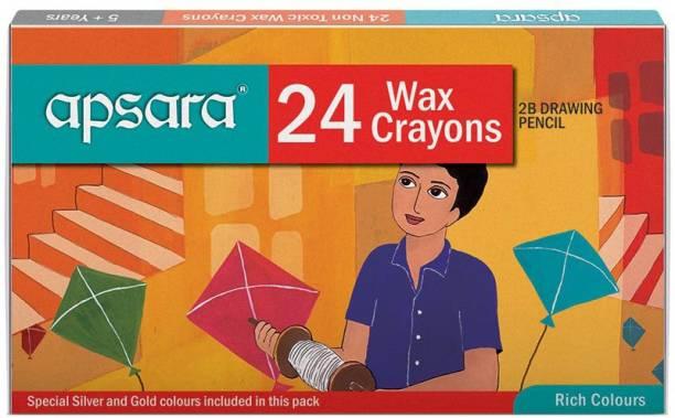 APSARA Wax Crayons