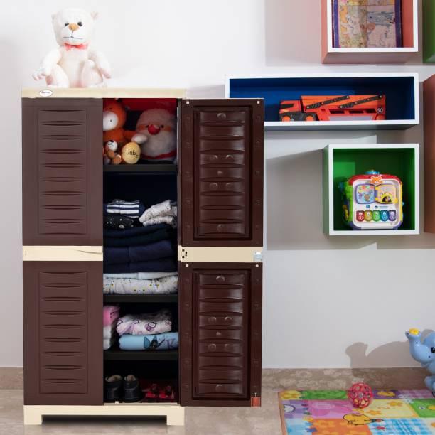 Supreme Fusion 02 Multi Purpose for Home Medium Size Plastic Cupboard