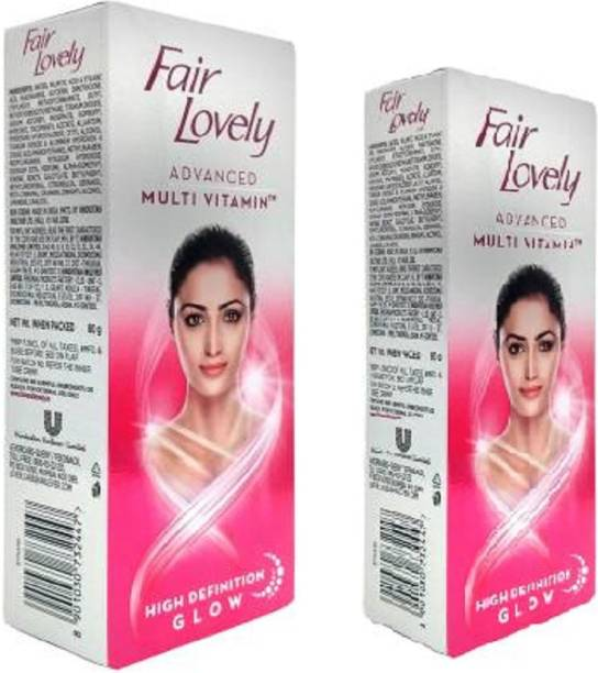 Fair & Lovely FACE CREAM MULTI VITAMIN HD 80G AND 50G