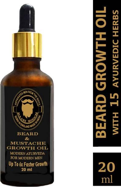 Daarimooch Beard Growth Oil For Men Hair Oil