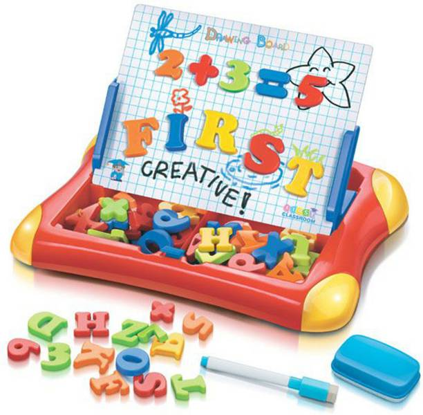 Toyshack Magnetic Writing and Drawing Learning Case for Kids with Numbers and Numbers