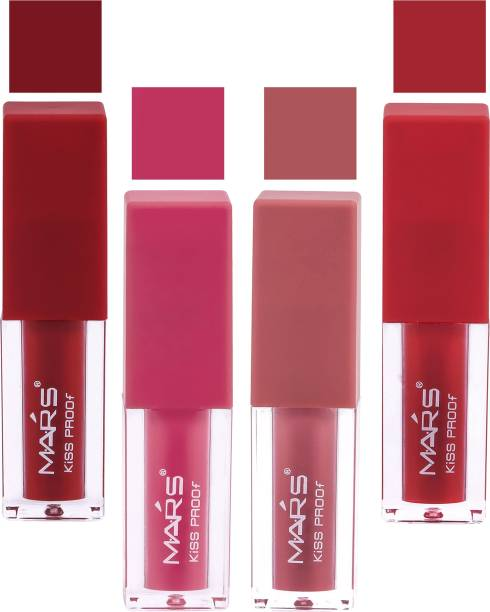 MARS Matte Liquid Lipstick Smudge Proof