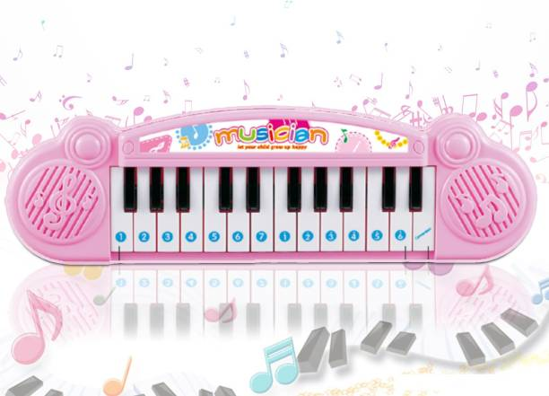 Miss & Chief Mini Muscial Keyboard with 24 Keys for Kids