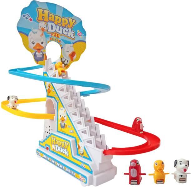 Miss & Chief Happy Duck track set