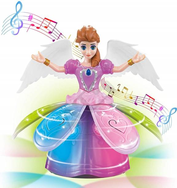 Miss & Chief Musical Bump and Go Dancing Princess Fairy with Flasing Lights