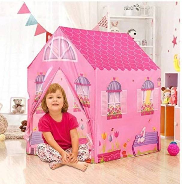 Aavkar creation Jumbo Size Extremely Light Weight , Water & Fire Proof Tent House Tent for kids