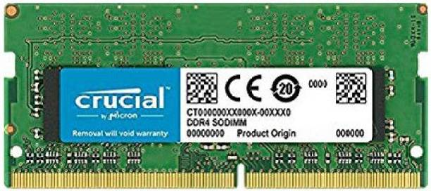 Crucial Basic Series works in both 2400Mhz and 2666Mhz but specifically you will get 2666Mhz RAM which is compatible with 8th generation and above processors. DDR4 8 GB (Single Channel) Laptop (8GB DDR4-2400 SODIMM)