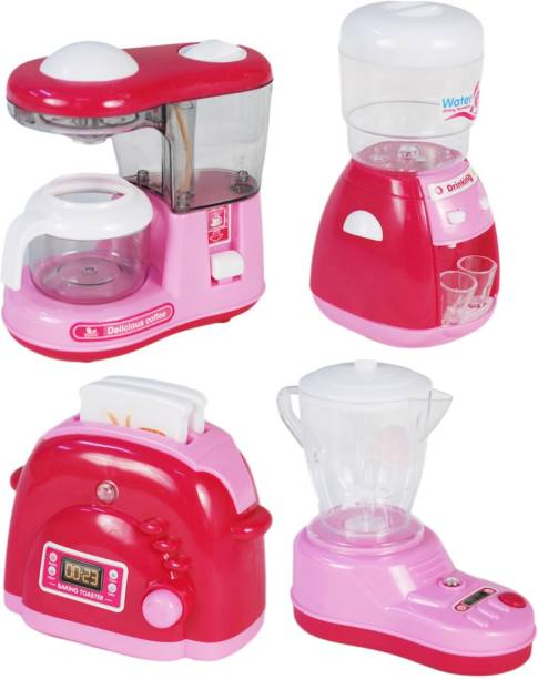 Miss & Chief Soybean Milk Maker, Water Dispenser Coffee Maker And Bread Maker