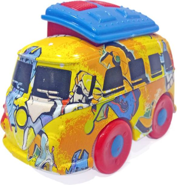 Miss & Chief Friction Graffiti Travel Van with flapping sound and moves