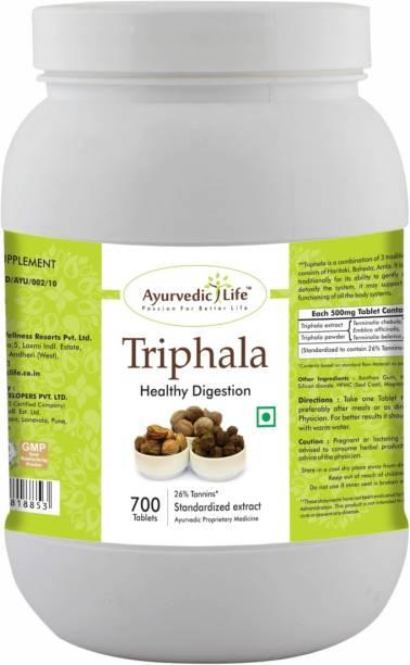 Ayurvedic Life Triphala 700 Tablets Value Pack