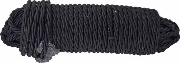 Yashinika Pack of 1 Black 28 Meters High Strength Leg Guard Rope Bike Crash Guard Rope