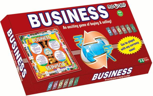 Miss & Chief Business Money & Assets Games Board Game