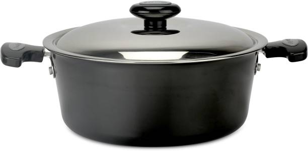 Prestige 240 mm (Hard Anodised,Non-Stick) Cook and Serve Casserole