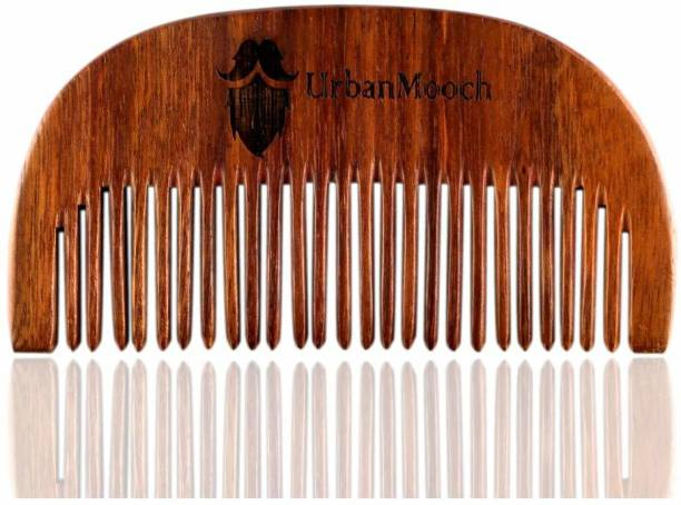 UrbanMooch Beard Shisham Wood Comb
