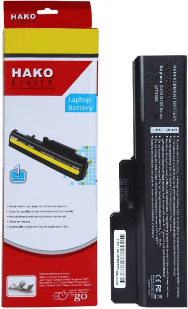 HAKO 3000 G430 G450 G530 G550 B460 B550 Z360 N500 6 Cell Laptop Battery
