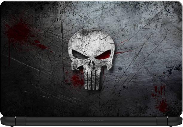 doodad Skull Removable Vinyl Skin Laptop Decal 15.6