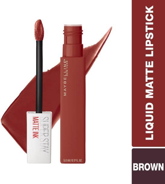 MAYBELLINE NEW YORK Super Stay Matte Ink Liquid Lipstick, Seeker