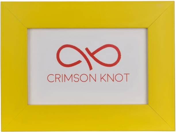 Crimson Knot Wood Photo Frame