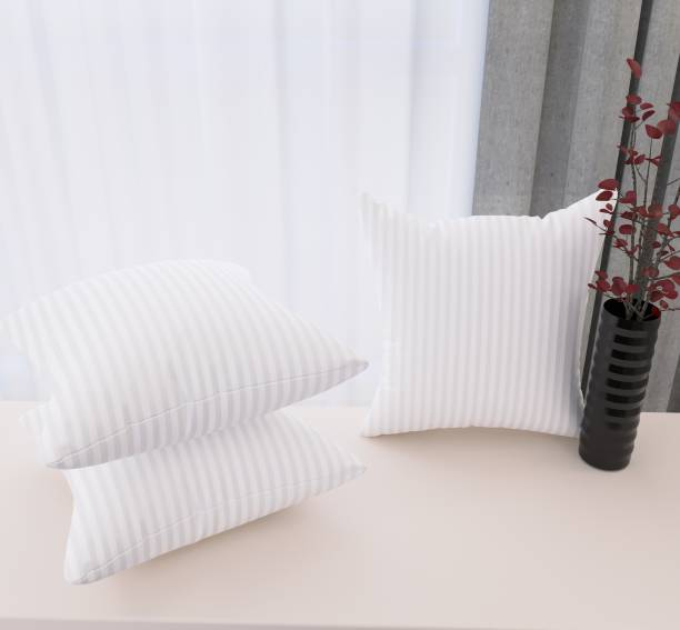 Flipkart SmartBuy Luxury Microfibre Stripes Cushion Pack of 3