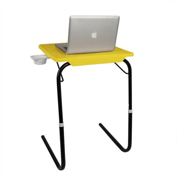 Flipkart SmartBuy Foldable, Adjustable Table Mate YK Plastic Portable Laptop Table