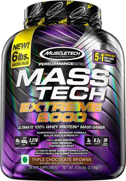 Muscletech Performance Series Tech Extreme 2000 Weight Gainers/Mass Gainers
