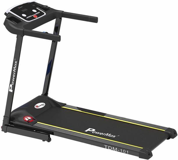 Powermax Fitness TDM-101 (2.0HP) Motorized Treadmill with MP3 & iPad holder Treadmill