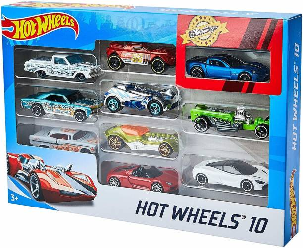 HOT WHEELS 10 cars Gift Pack
