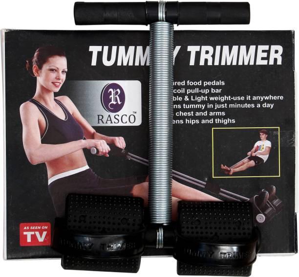 RASCO BLACK SINGLE SPRING TUMMY TRIMMER Ab Exerciser