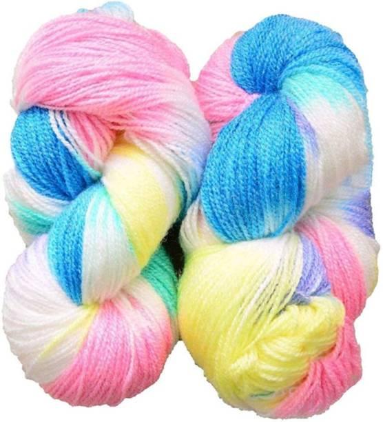 Ganga Glowing Star knitting yarn (Blue Lily) (200gms)