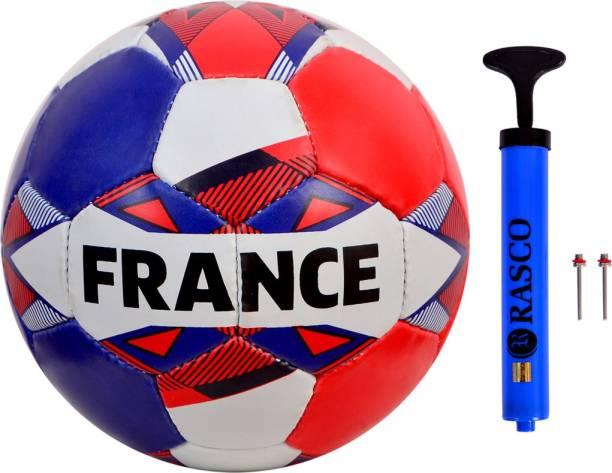 RASCO FRANCE STREET FOOTBALL SIZE 5 WITH AIR PUMP Football Kit
