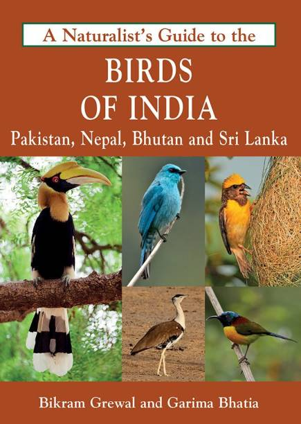 Birds of India : Pakistan Nepal Bhutan and Srilanka