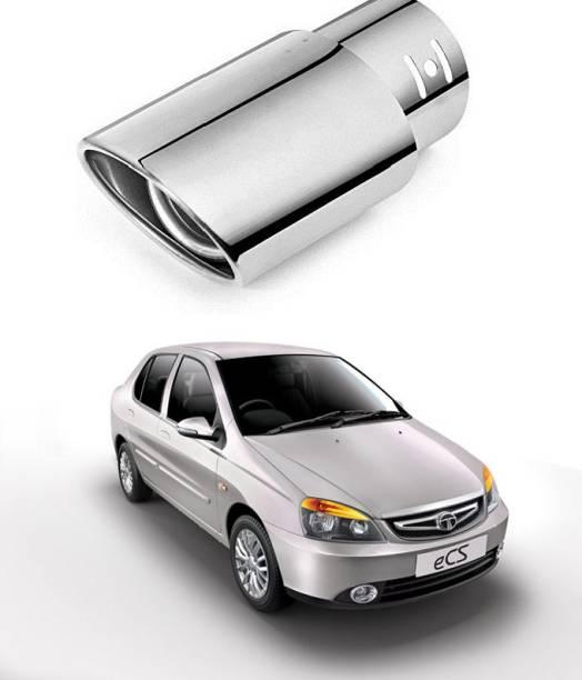 PRTEK Car Exhaust Tube in Tube-Silencer Muffler Tip for All Cars (Universal) 0080  Car Silencer