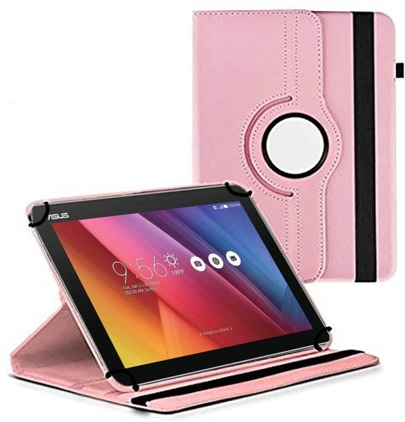 TGK Flip Cover for Asus Zenpad 10 Z301M / Z301Ml / Z301Mfl / Z300C 10.1 Inch Tablet / Rotating Leather Stand Case