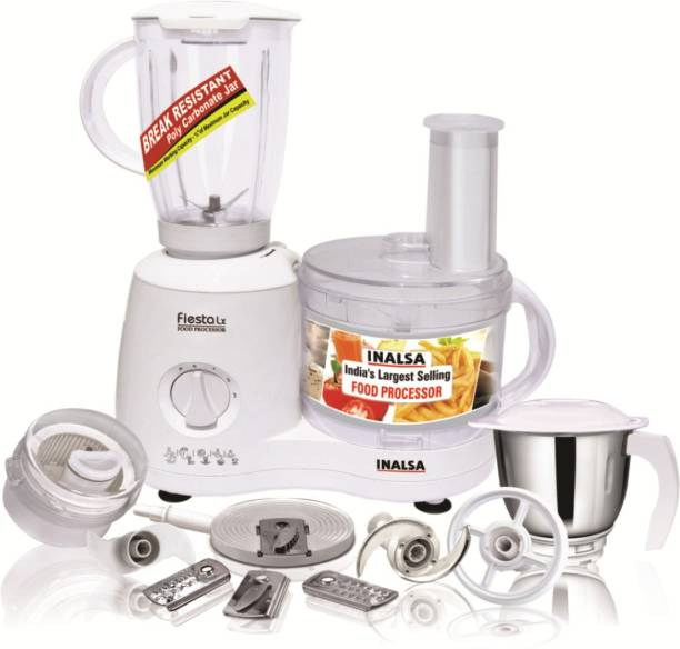 Inalsa Fiesta Lx 650 W Food Processor