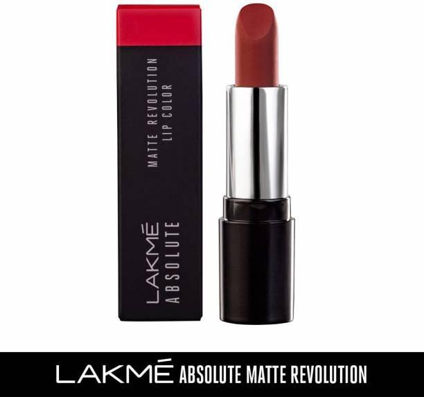 Lakmé Absolute Matte Revolution Lip Color, 103 Maroon Fantasy, 3.5 g