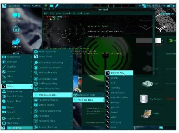 Compatible Parrot Secure OS 64 bit Live DVD Penetration Test Hacking Parrot Security 3.11 DVD Penetration Test Hacking