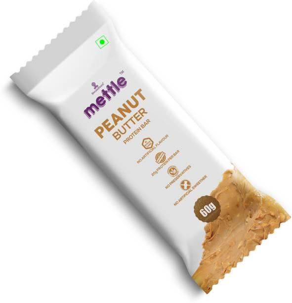 mettle Peanut Butter Protein Bar 60g Energy Bars