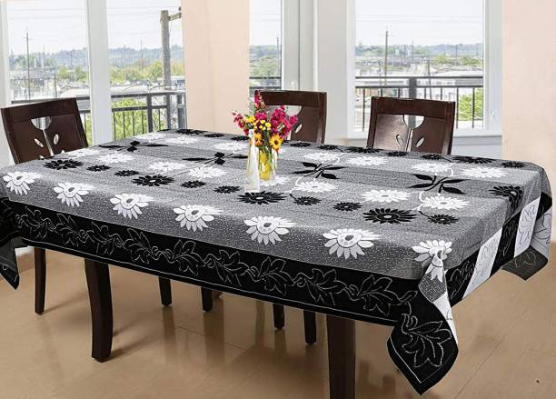 FAIRY HOME Striped 6 Seater Table Cover
