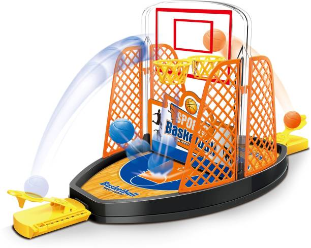 Miss & Chief 2 Sided Finger Basketball Shooting Game for Kids Basketball