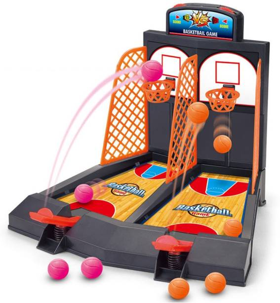 Miss & Chief Finger Basketball Shooting Table Game for Kids Basketball