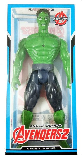 Hulk and Thor Special Box 2 Figure 10cm Metal Avengers Age of Ultron Jada Toy