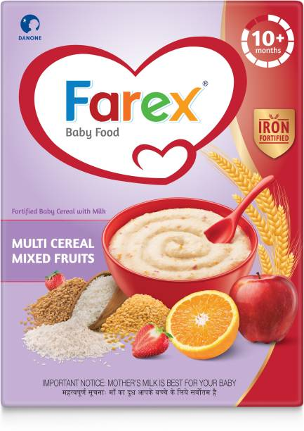Farex Mixed Fruits Fortified Baby Cereal