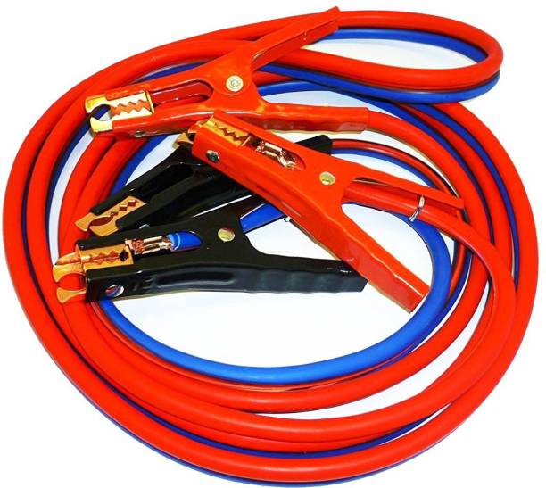 RHONNIUM SUPER HEAVY DUTY 500 amp 6 gauge No Tangle Battery Booster cables 7 ft Battery Jumper Cable