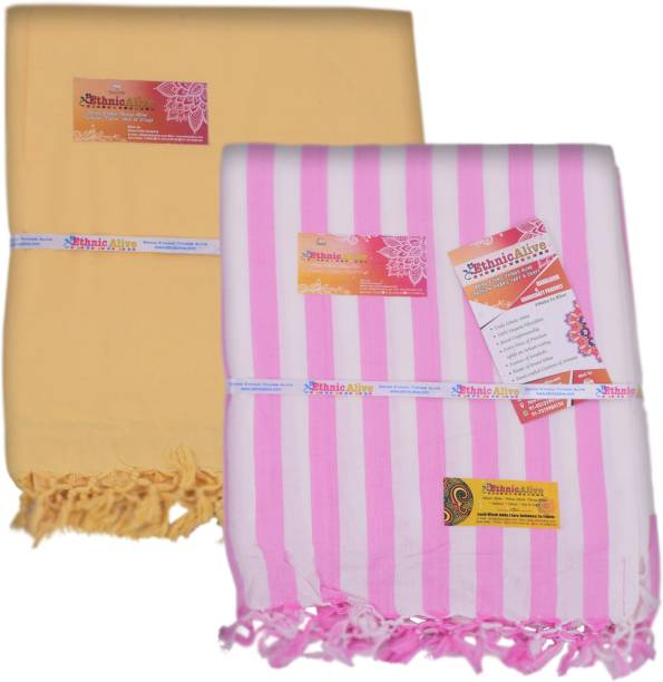 EthnicAlive Striped Single AC Blanket