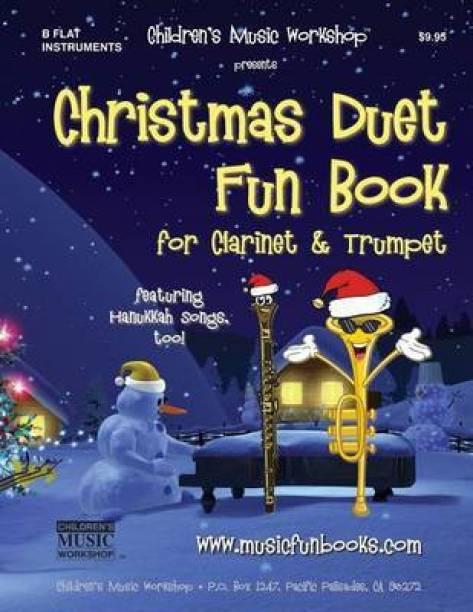 Christmas Duet Fun Book for Clarinet & Trumpet